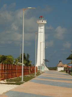 Lighthouse at the end of the Malecon
