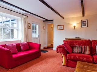 Comfortable sofas for relaxing after a long day exploring the Dales