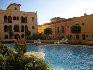 The communal pool, Just a minutes walk away, but not to close to disturb you !