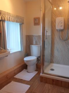 New shower room.