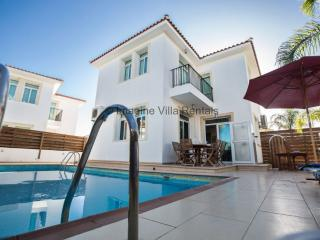 Mesogeios 24, 3 beds with private pool and WiFi, Protaras