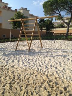 The kids playground