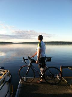 Pedaling the Waterways- meet others from all over the world joining 'Bike Maine'