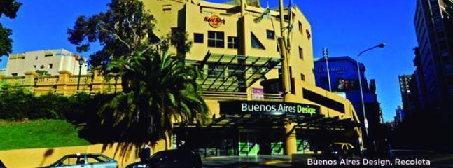 Buenos Aires Design Center in the elegant district of la Recoleta. 15 blocks by Pueyrredón.
