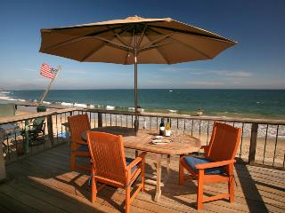 Deck or beach - life is full of difficult decisions!