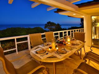 Oceanfront views from the back deck