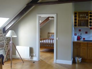 Entry to attic bedroom