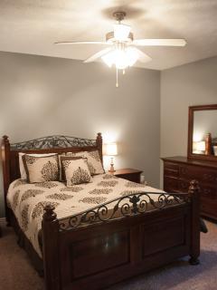 Lower Level Queen Bedroom #1
