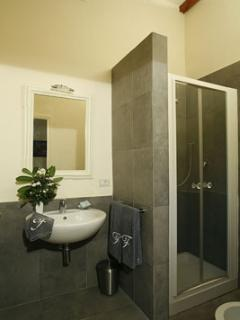 One of the private bathroom of the Villa