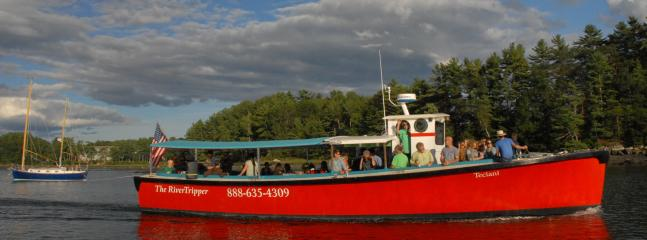 Ride 'The River Tripper' to the oyster farms or during Happy Hour down the River.