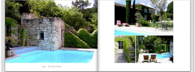 The pool area - totally private and extremely picturesque