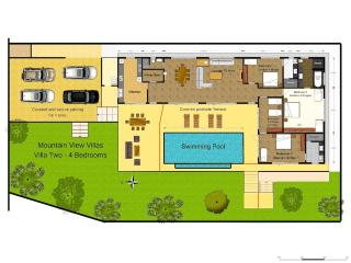 Floor Plan Villa Two.
