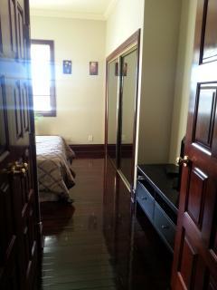 bedroom exit