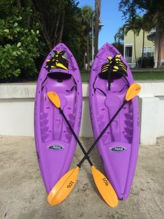 2 kayaks for our guests