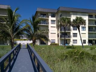 3 bedroom condo just steps to the beach