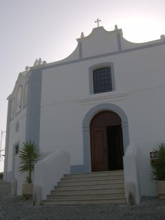 The old church of Aljezur 2 minutes walk from the house!