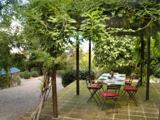 Cottage with private garden, gazebo, private pool, Montecatini Val di Cecina