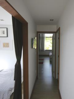 upstairs hallway connecting bedrooms