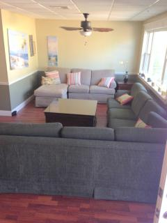 Great for watching tv, reading or playing games.  Seating for all!