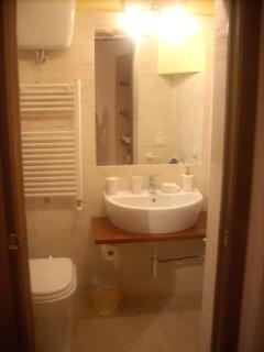 First floor : bathroom with shower