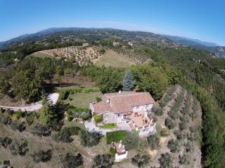 A delightful stone villa, Rocca Sinibalda
