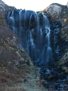 Clashnessie Waterfall