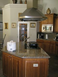 Kitchen Island Station,