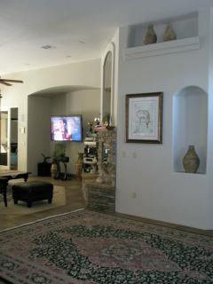 Entry and living room area