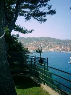 view to Porto Santo Stefano