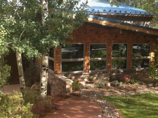 CONTEMPORARY HOME NESTLED AGAINST RED MOUNTAIN, NEAR DOWNTOWN AND POOLS!