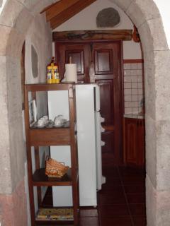 Acceso a baño y cocina