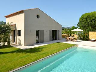 41517 new built villa 4 bedrooms, heated pool 10 x 4, centre 2.5 km well priced.