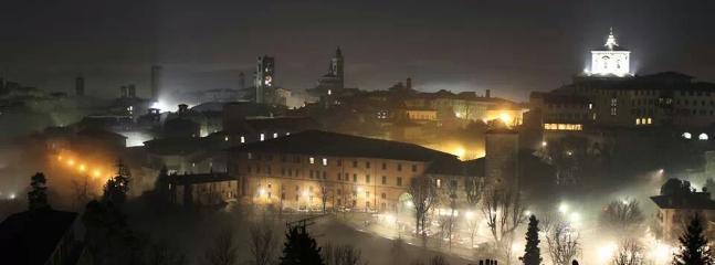 Bergamo Alta magic night