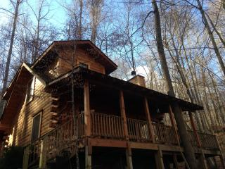 The Heart Center - Gorgeous Log Cabin In The Woods, Robbinsville