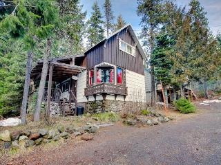 Cozy ski getaway with private hot tub, easy ski access & more!, Government Camp