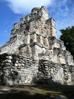 Nearby Mayan ruins at Muyil.