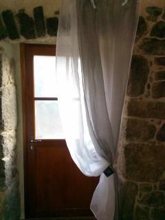 Voûte traditionnelle des portes ardechoises