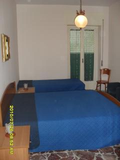 seconda stanza da letto con balcone