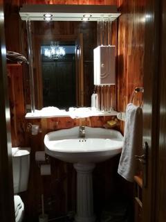 Baño completo, con bañera SUITE