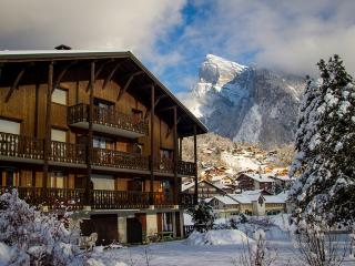 Spacious top floor apt to rent in Samoens