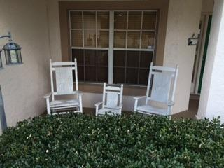 Rocking chairs on front verrandah