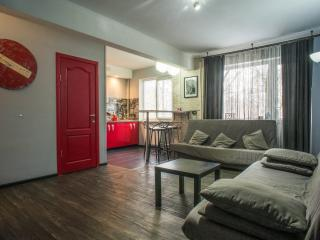 Furnished studio «Red Doors»