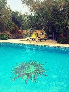 Potete godervi un ambiente esclusivo a bordo piscina, fare il pieno di sole e rilassarvi