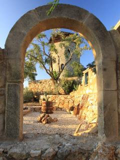 View through ruin