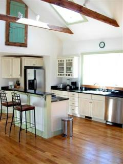 Gourmet Kitchen, gas stove,