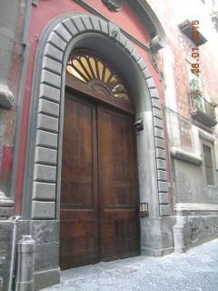 main entrance of Atri building