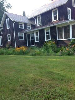 Large side yard - perfect for a family game of flag football or volleyball