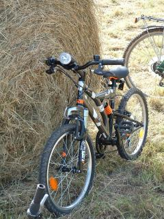 Many hiking trails mountain bike around CLERES (loans free bikes)