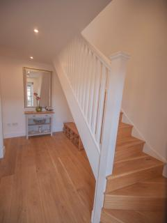 solid oak flooring throughout