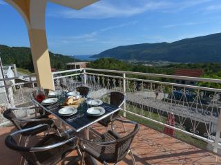 Breakfast on the Upper Terrace with Beautiful Sea View